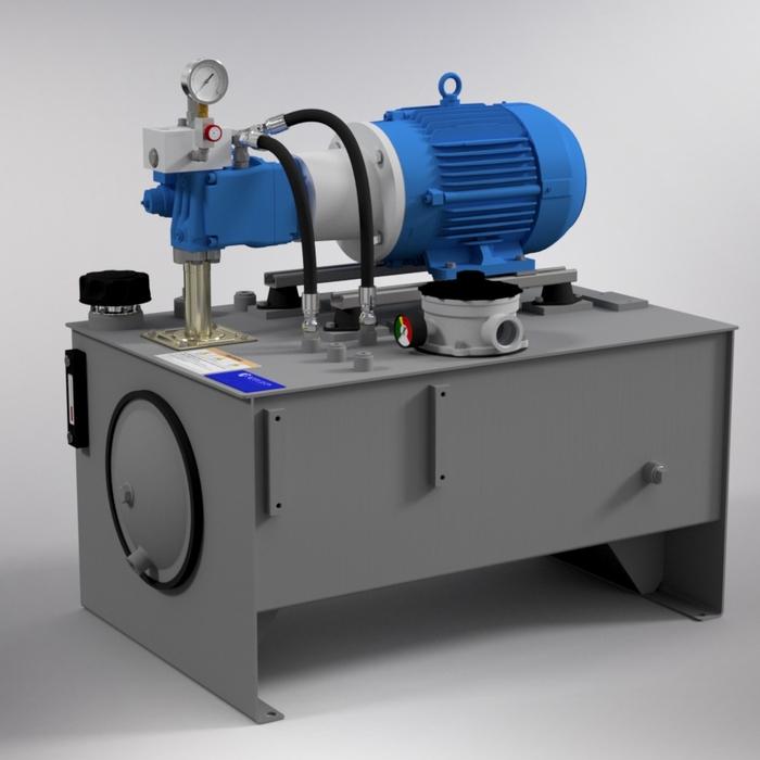 7.5 HP Medium-Pressure Hydraulic Power Unit