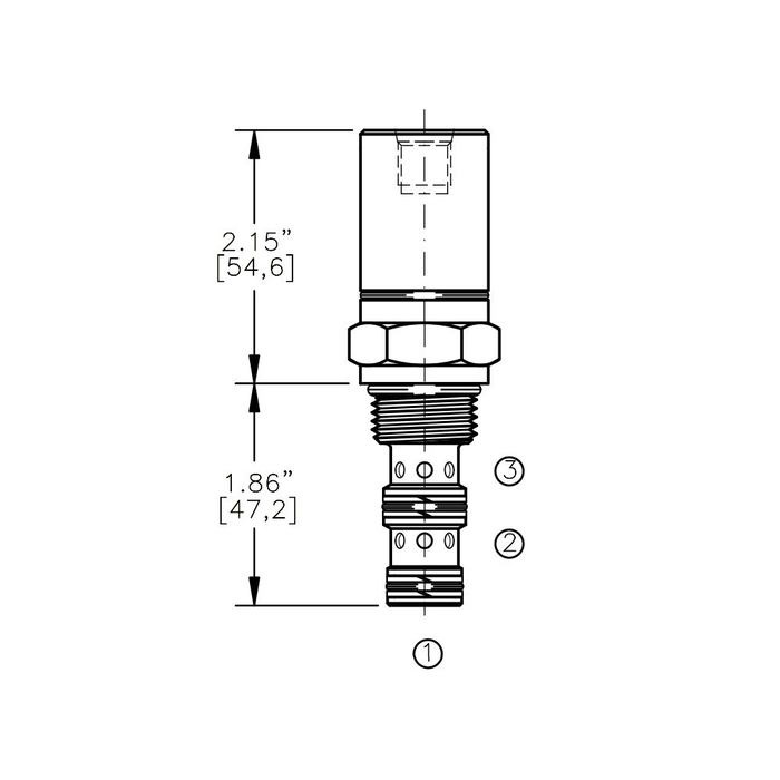 Bucher AODV-10-3A Air Operated Directional Control Valve