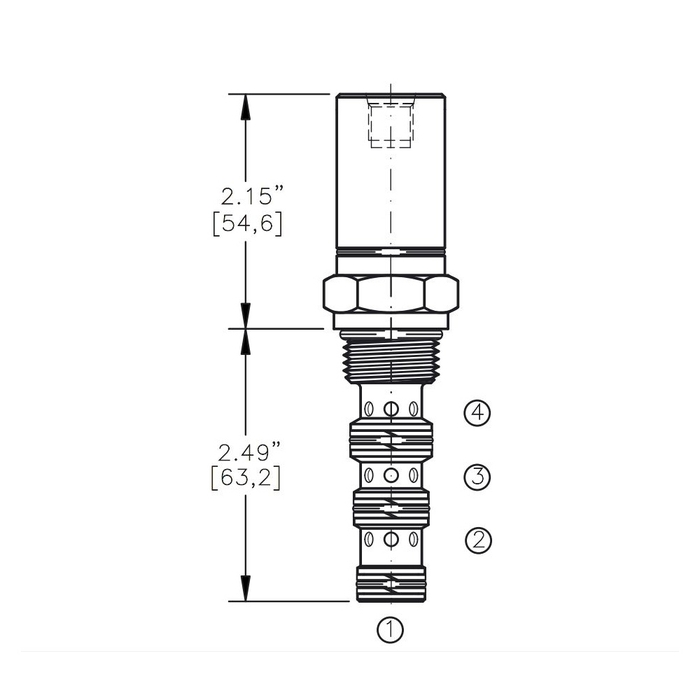 Bucher AODV-10-4C Air Operated Directional Control Valve