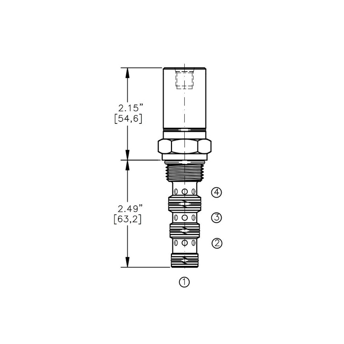 Bucher AODV-10-4D Air Operated Directional Control Valve