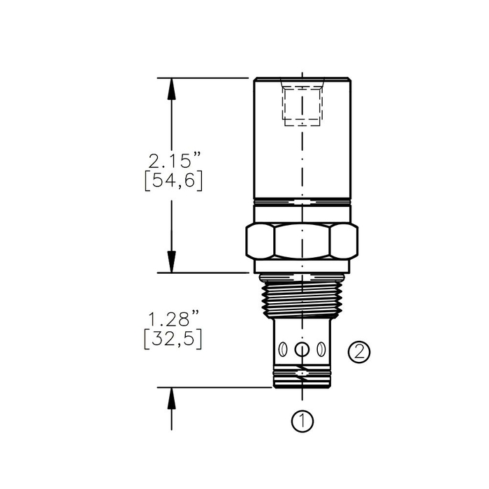 Bucher AODV-10-C1 Air Operated Directional Control Valve