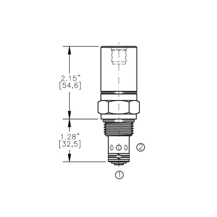 Bucher AODV-10-C3 Air Operated Directional Control Valve