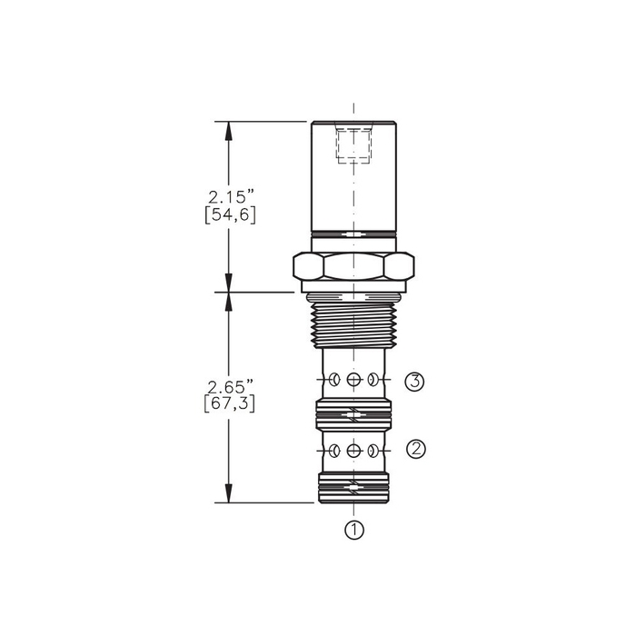 Bucher AODV-12-3A Air Operated Directional Control Valve
