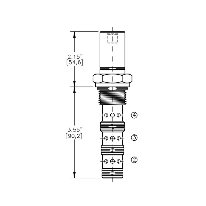 Bucher AODV-12-4C Air Operated Directional Control Valve
