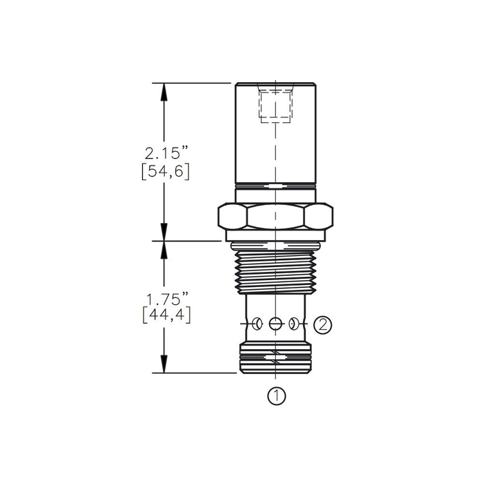 Bucher AODV-12-C1 Air Operated Directional Control Valve