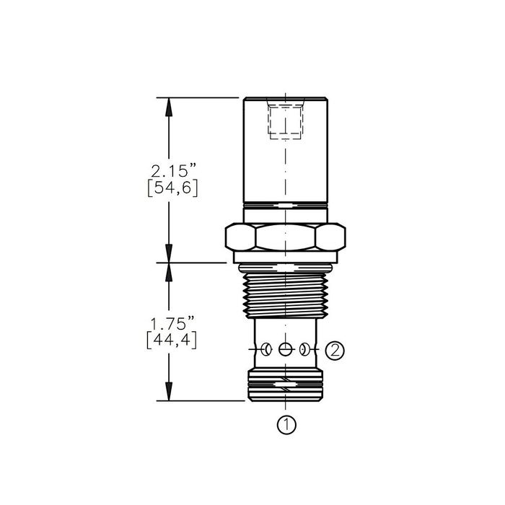 Bucher AODV-12-O1 Air Operated Directional Control Valve
