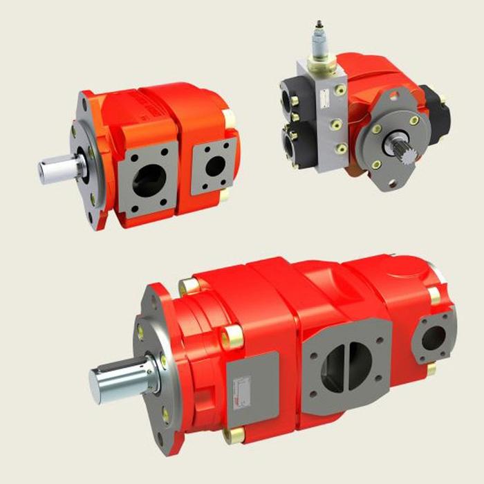 Bucher QX6 Fixed Displacement Gear Pump