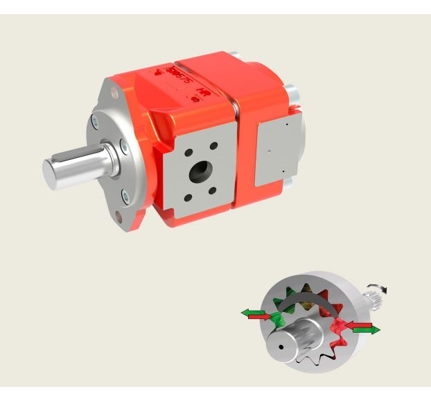 Bucher QXEM5 Series Gear Pump