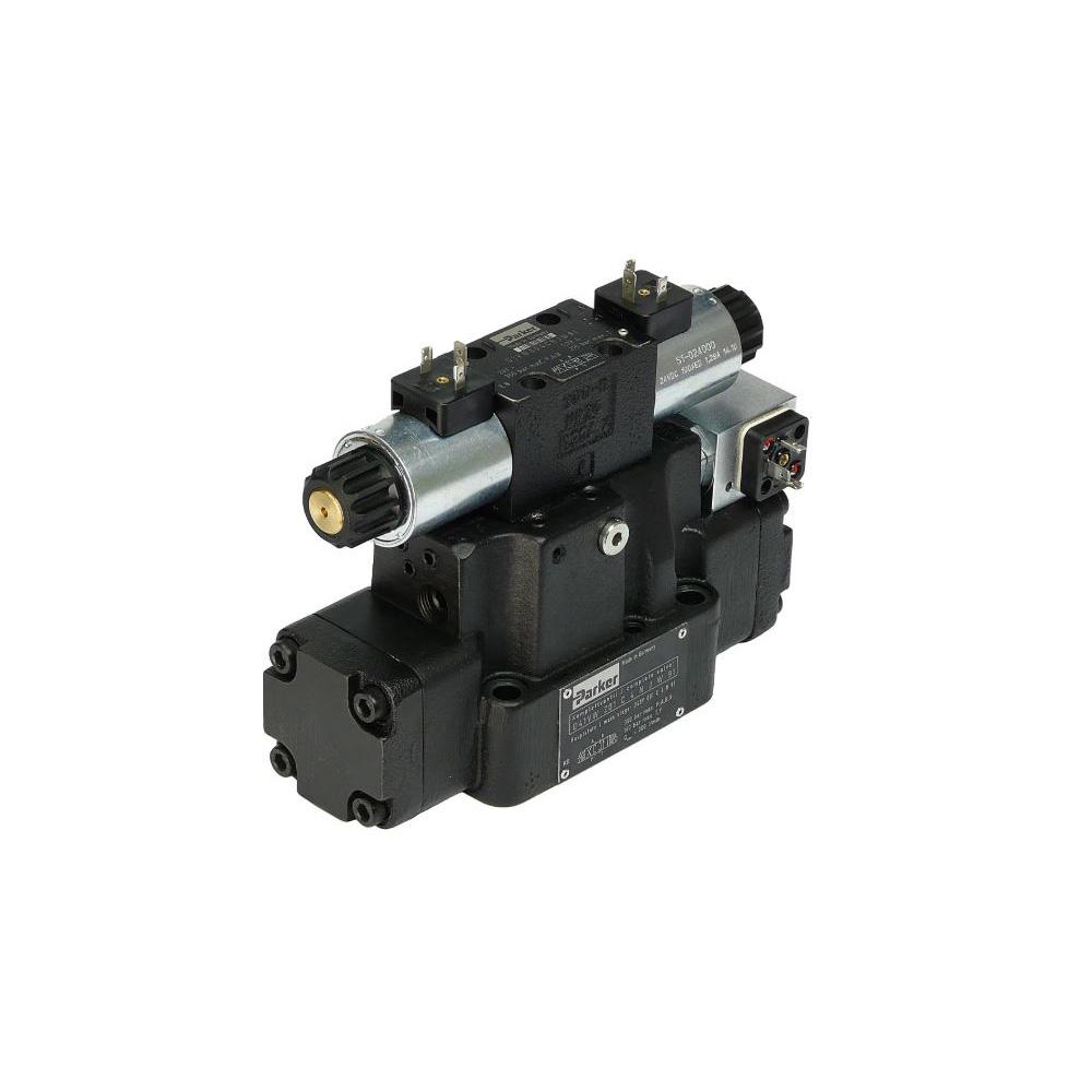 Parker Hydraulics D*1*WR/Z Series Directional Control Valve